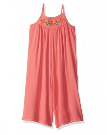 Crazy Toddler Sleeveless Culotte Romper