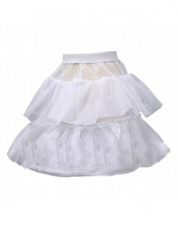 Musebridal Ruffles Wedding Petticoat Crinoline