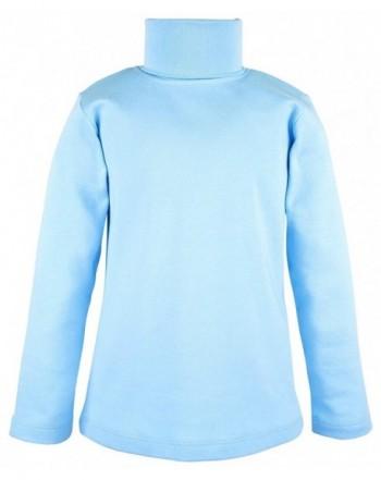 Lovetti Sleeve Turtleneck Cotton T Shirt