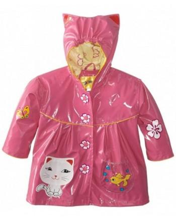 Kidorable All Weather Raincoat Flowers Pocket
