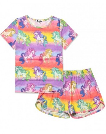 Jxstar Unicorn Pajamas Cotton Sleepwear