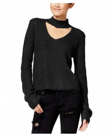 Polly Esther Juniors Choker Sweater