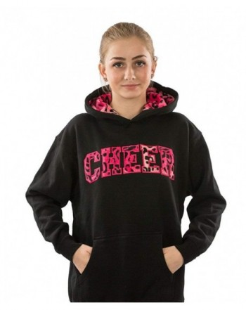 Lizatards Girls Hoodie Sweatshirt Animal