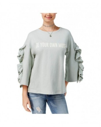 Polly Esther Forever Ruffled Sweatshirt