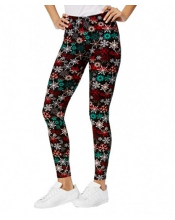 Planet Gold Super Soft Holiday Print Leggings