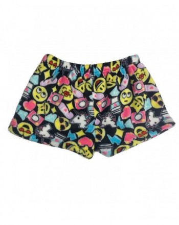 Popular Girls Fleece Pajama Shorts