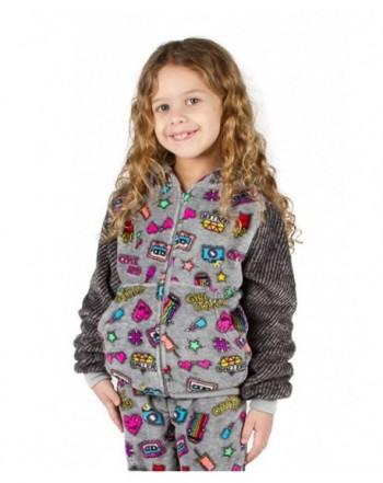 Girls Peace Love Fashion Hoodie