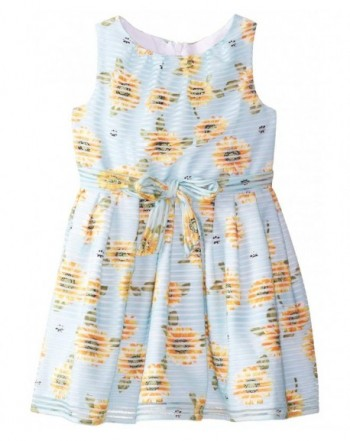 PIPPA JULIE Girls Sunflower Print