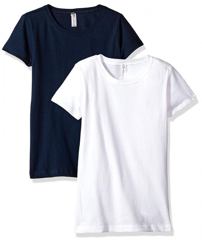 Clementine Girls Everyday T Shirts 2 Pack