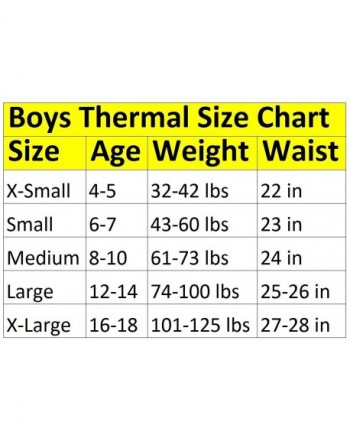 Cheap Designer Boys' Thermal Underwear Sets Outlet Online