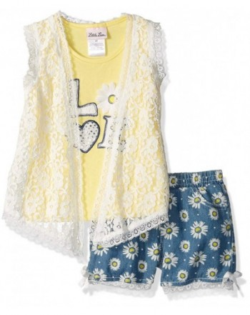 Little Lass Girls Daisy Denim
