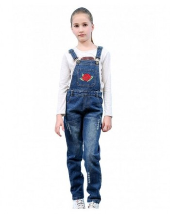 Tortor 1Bacha Embroidered Distressed Overall