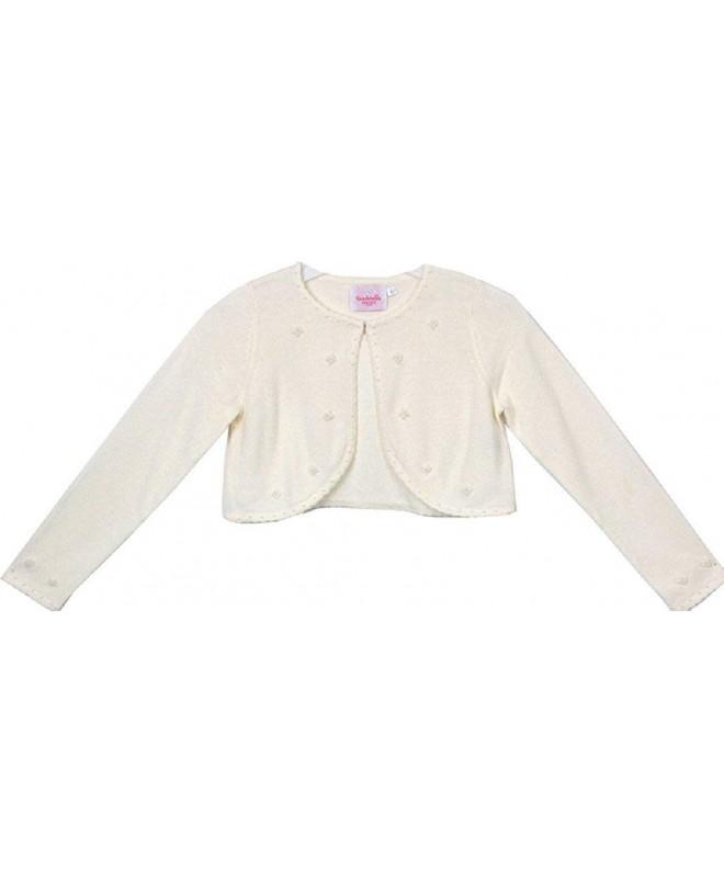 Flower Jacket Elegant Beaded Sweater