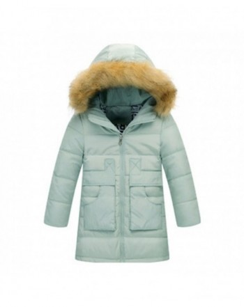 OCHENTA Quilted Hooded Puffer Jacket