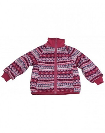 NIce Little Sherpa Fairisle Fleece