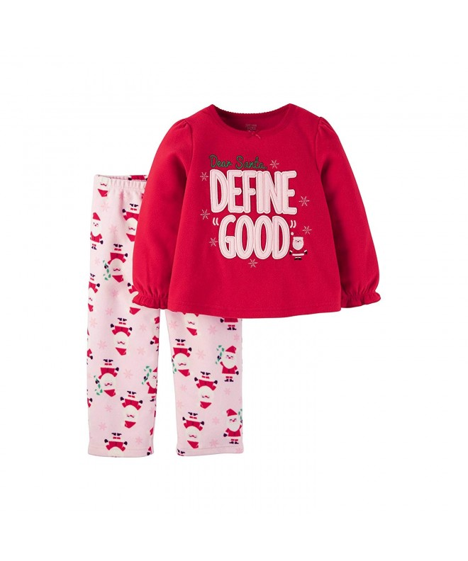 Toddler Fleece Pajama Set Dear Define