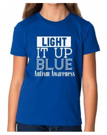Vizor Light Autism Awareness T Shirt