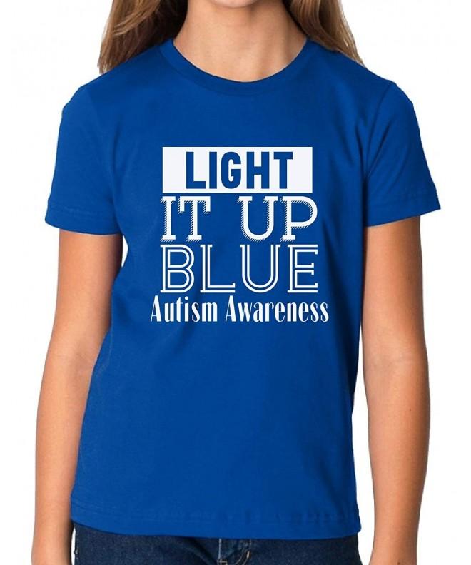 Vizor Light Autism Awareness T Shirt