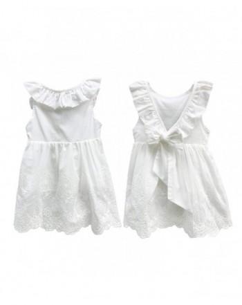 Abalaco Backless Breathable Sleeveless Toddlers