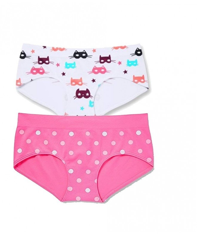2a05aa65a72a Seamless Boyshort Panty Size 12/14 - 2-Count - Girl Hero Kitty ...