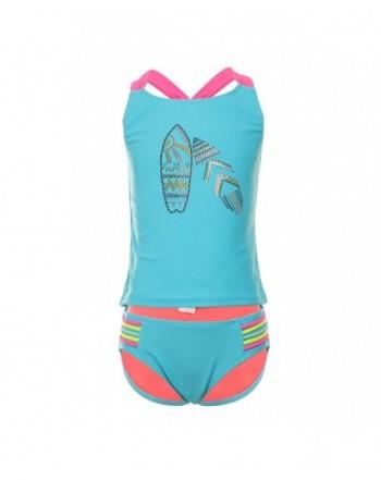 DAYU Cross Back Swimwear Tankini Swimsuit