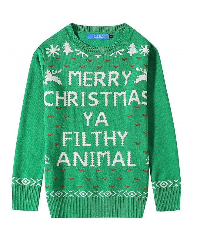 SSLR Pullover Crewneck Christmas Sweater