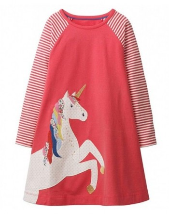 Fiream Girls Cotton Sleeve Dress