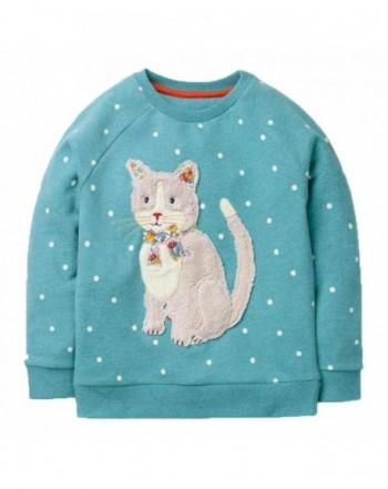KIDSALON Little Cotton Crewneck T Shirt