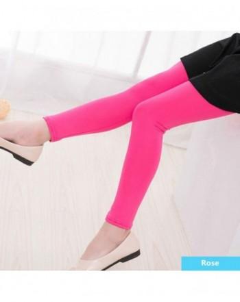 Illae Annie Toddler Kids Stretch Leggings Pants Printing Footless Tights