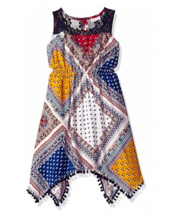 Youngland Sleeveless Printed Challis Fashion