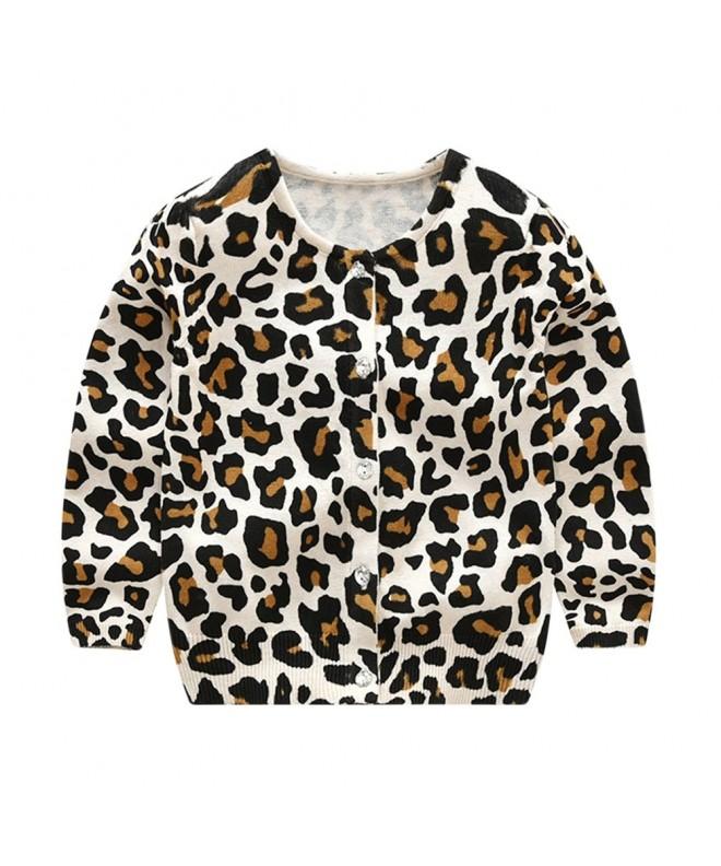 Tortor 1Bacha Crewneck Leopard Cardigan