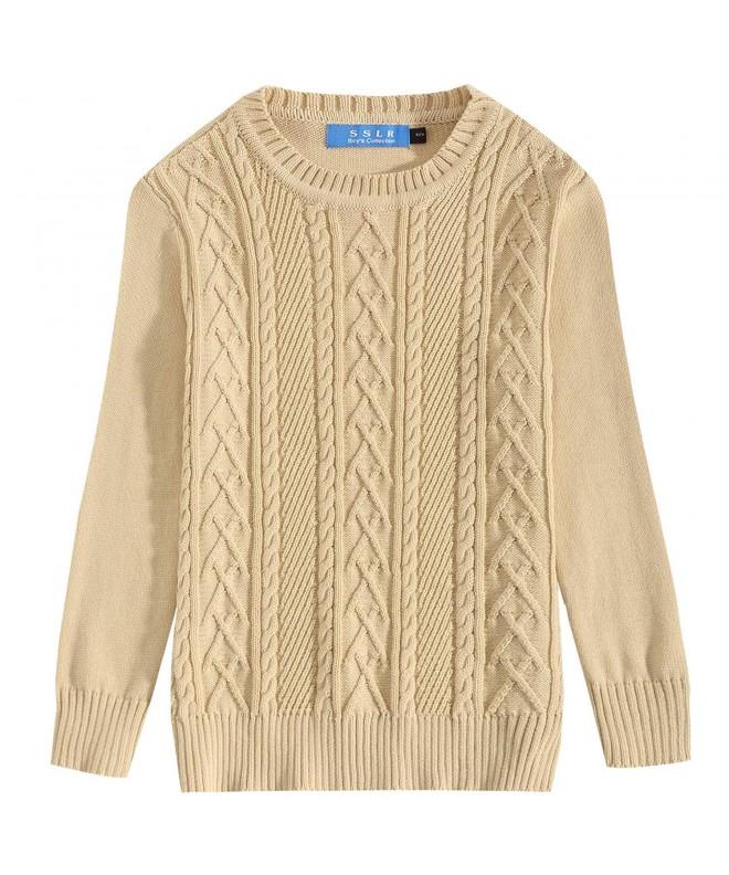 SSLR Winter Crewneck Pullover Sweater