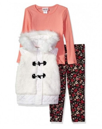 Little Lass Girls Sherpa Puffer