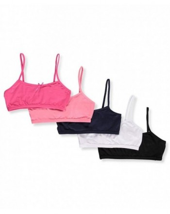 Simply Adorable Girls 5 Pack Bralettes