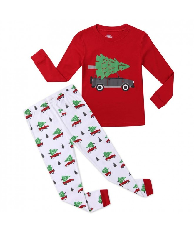 Hsctek Christmas Pajamas Children Sleepwear