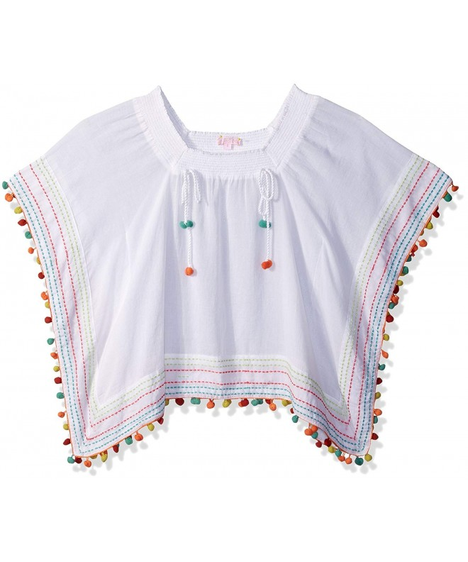OndadeMar Girls Amazonia Poncho Cover up