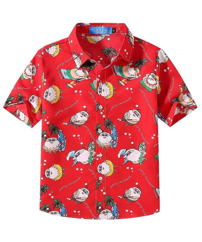 SSLR Santa Tropical Hawaiian Christmas