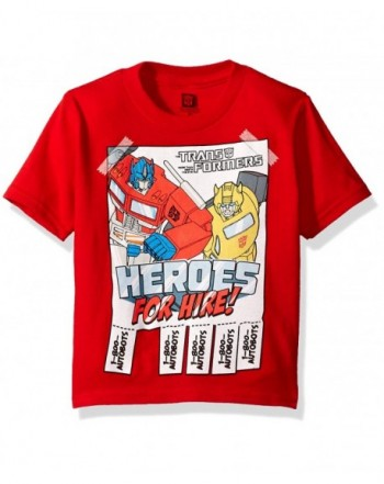 Transformers Toddler Heroes Sleeve T Shirt