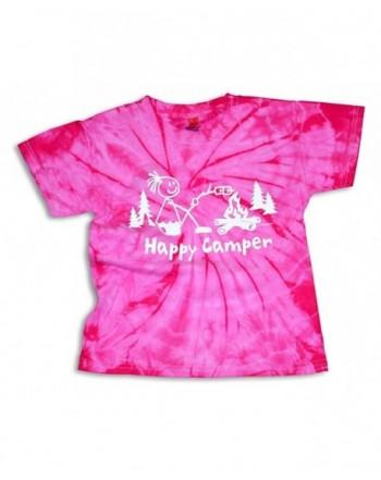 Mountain Graphics Tye Dye Camping T Shirt