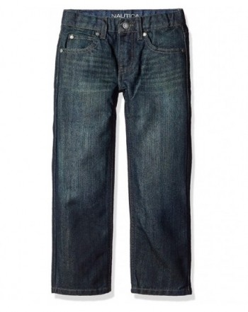Nautica Boys 5 Pocket Straight Jeans