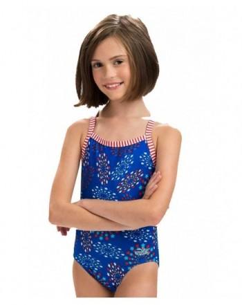 Dolfin Girls Uglies Swimsuit Patriot