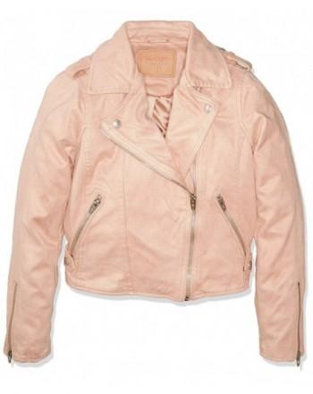 BLANKNYC Girls Suede Jacket Outerwear