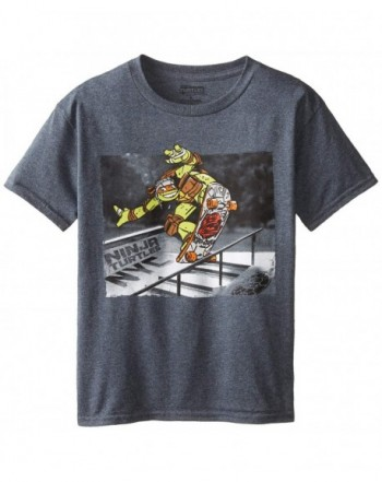 Nickelodeon T Shirtnage Turtles Photoreal Charcoal