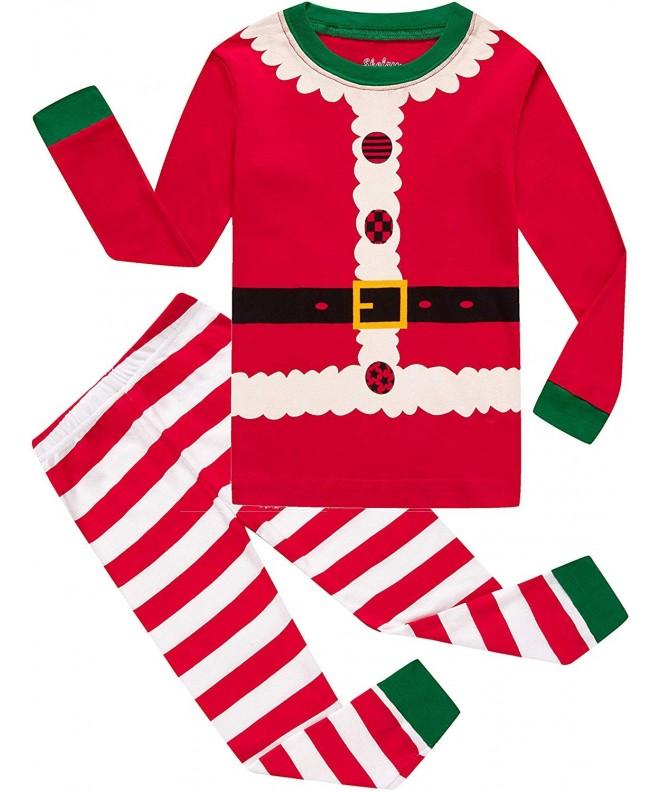 Toddler Christmas Pajamas.Girls Christmas Pajamas Children Boys Pjs Sleepwear Kids Clothes Stripe Pants Set Red Christmas Stripe Cu18m5o8rts