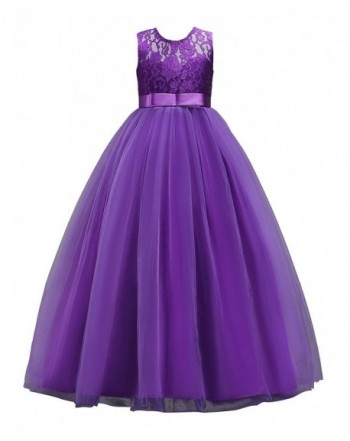 Muababy Girls Bridesmaid Dress Dresses