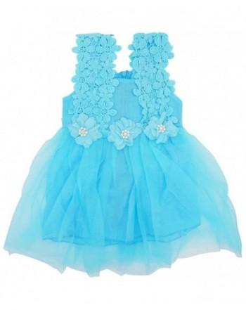 Little Flower Princess Dresses Waistband
