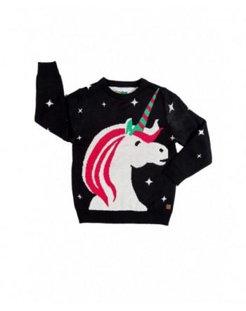Cute Childrens Unicorn Christmas Sweater