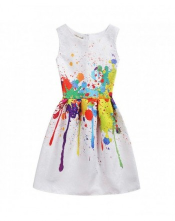 Summer Sleeveless Dresses Toddler Clothes