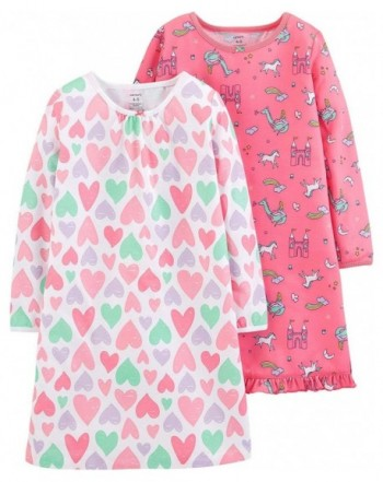 Carters Girls Pack Sleep Nightgowns