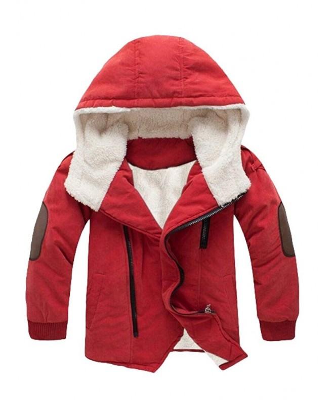 Mallimoda Cotton Padded Jacket Hooded Fleece